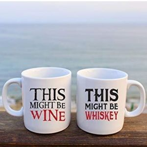 Other - This Might Be Wine, This Might Be Whiskey Set